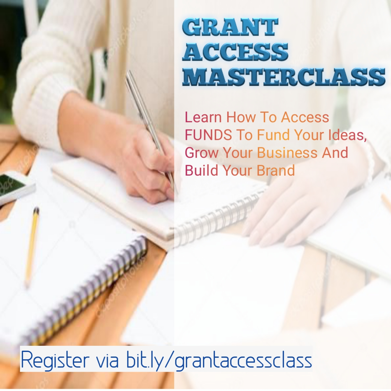 REGISTER FOR GRANT ACCESS MASTERCLASS