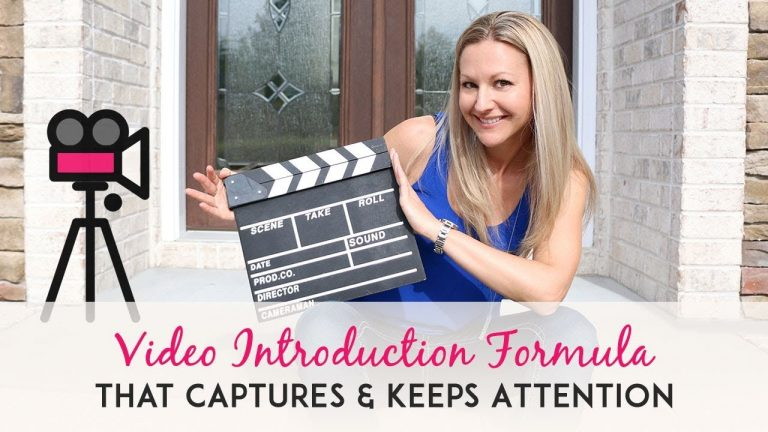 Video Marketing Tips My 3 Step Video Intro Formula to Capture and Keep Your Audience's Interest