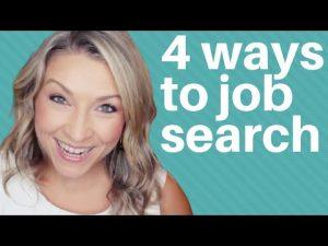 4 Job Search Strategies