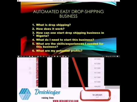 The  Dropshipping + Mini-Importation Mastery- derichiesfox.com