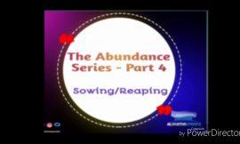 How to Enjoy Abundance – Part 4