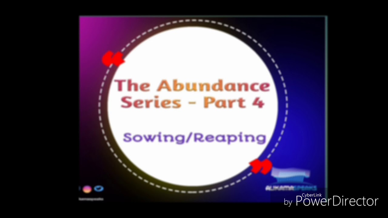 How to Enjoy Abundance – Part 4