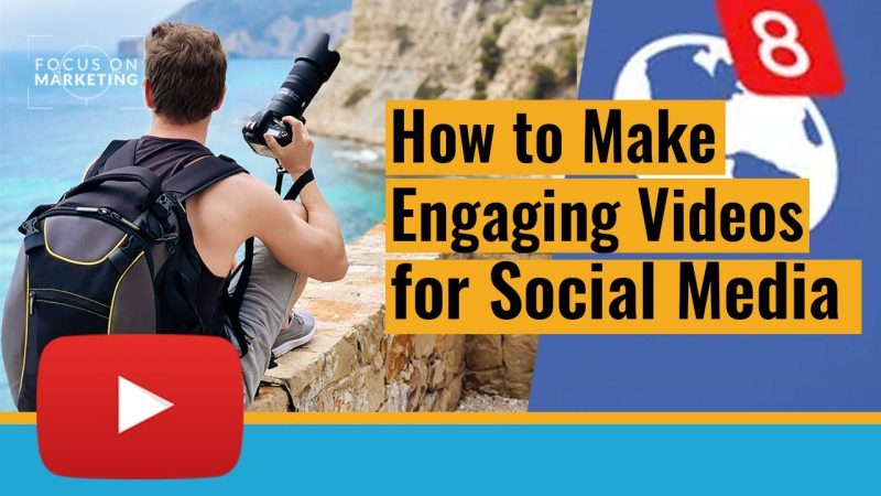 How to Make Great Engaging Photography Videos for Facebook and Linkedin