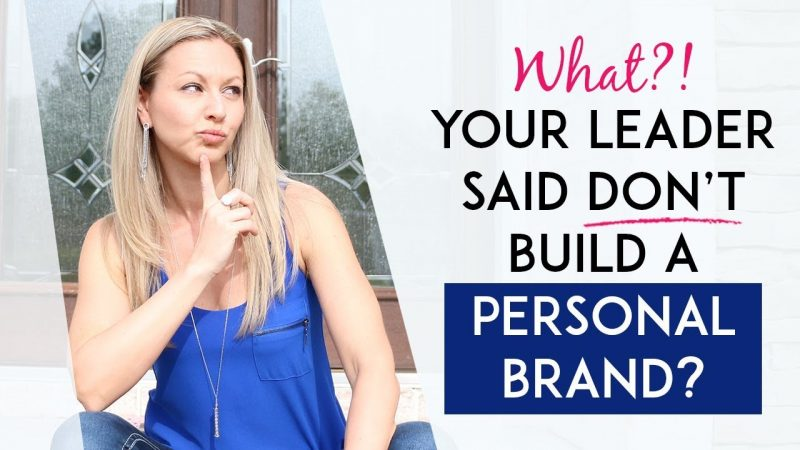 Should You Brand Yourself If You're In Network Marketing