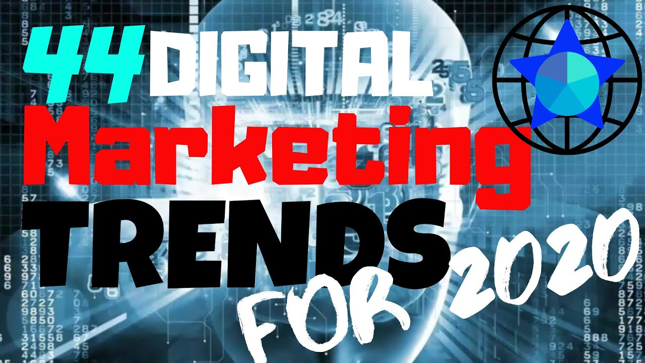 44 Digital Marketing Trends for 2020 That You CANNOT IGNORE