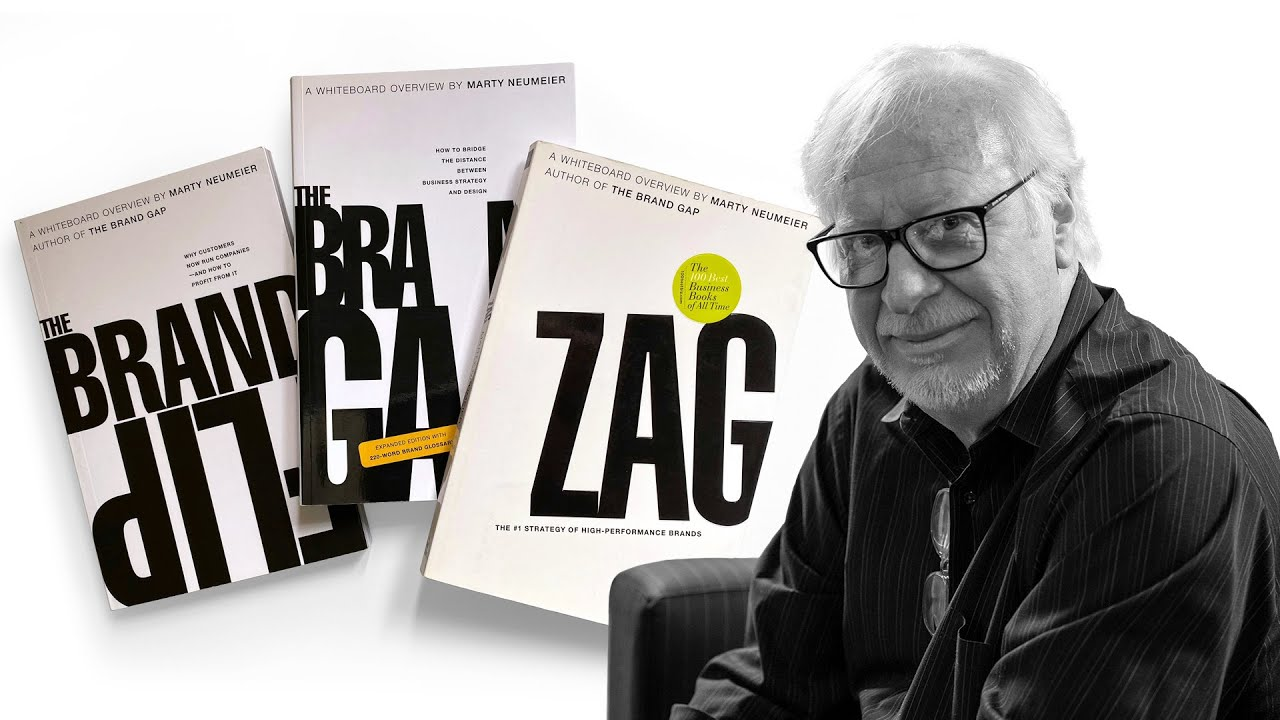 EVERYTHING You Need To Know About Branding With Marty Neumeier