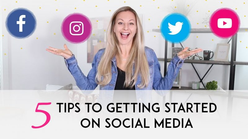 5 Social Media Tips That Will Help You Jumpstart Your Business On Social Media