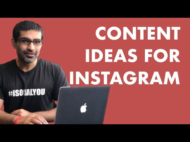 CONTENT CREATION IDEAS FOR INSTAGRAM: 3 Simple Post Ideas For Organic Follower Growth