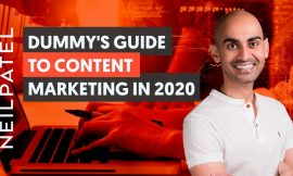 The Beginner's Guide to Content Marketing in 2020 | Neil Patel