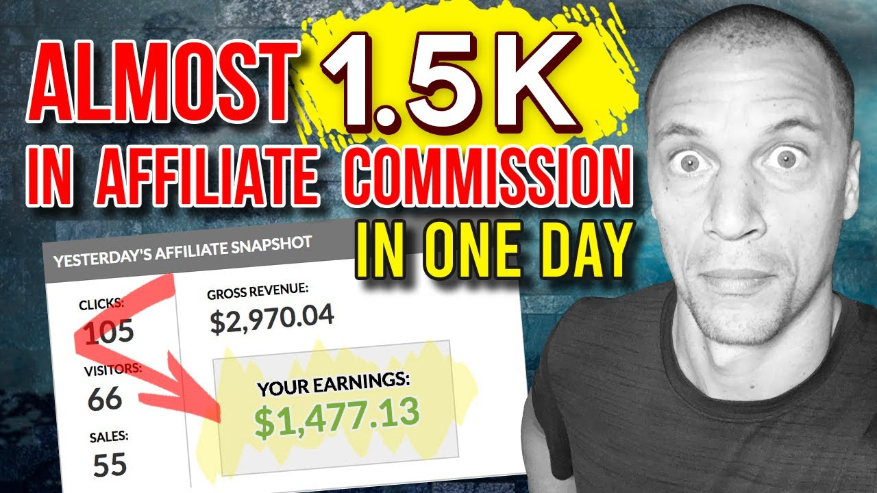 1.5k In 1 Day Affiliate Marketing Training & Case Study (All Pages & Traffic Revealed)