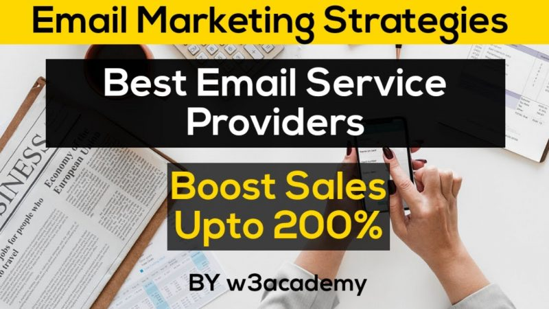 Email Marketing | Best Email Service Providers for business (Digital marketing strategies 2020)