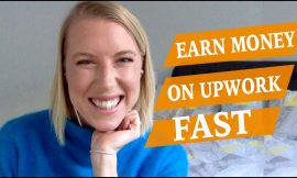 EARN MONEY ON UPWORK FAST ♡ How to get started freelancing in 7 days ♡ Digital Nomad Girl