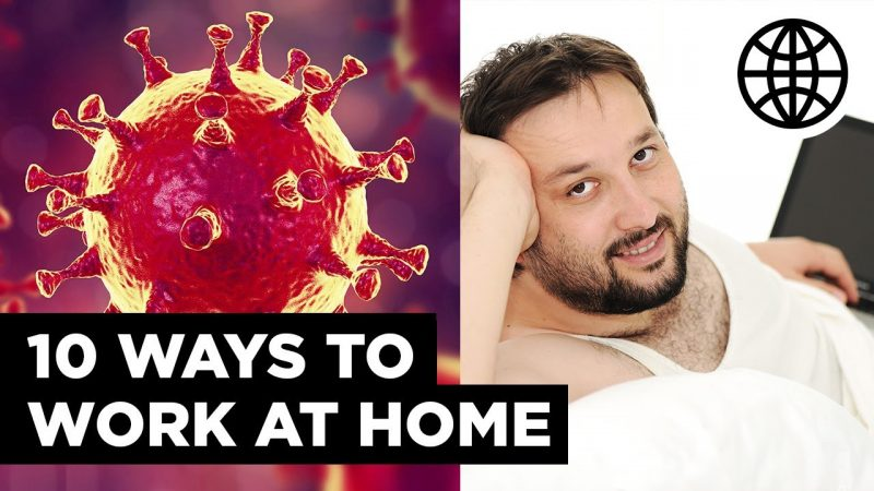 10 Ways To Work From Home During an Outbreak - $12 to $35 Per Hour (Online Jobs)
