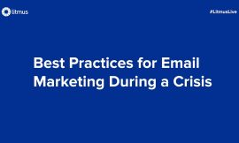 Feedback Friday: Best Practices for Email Marketing During a Crisis
