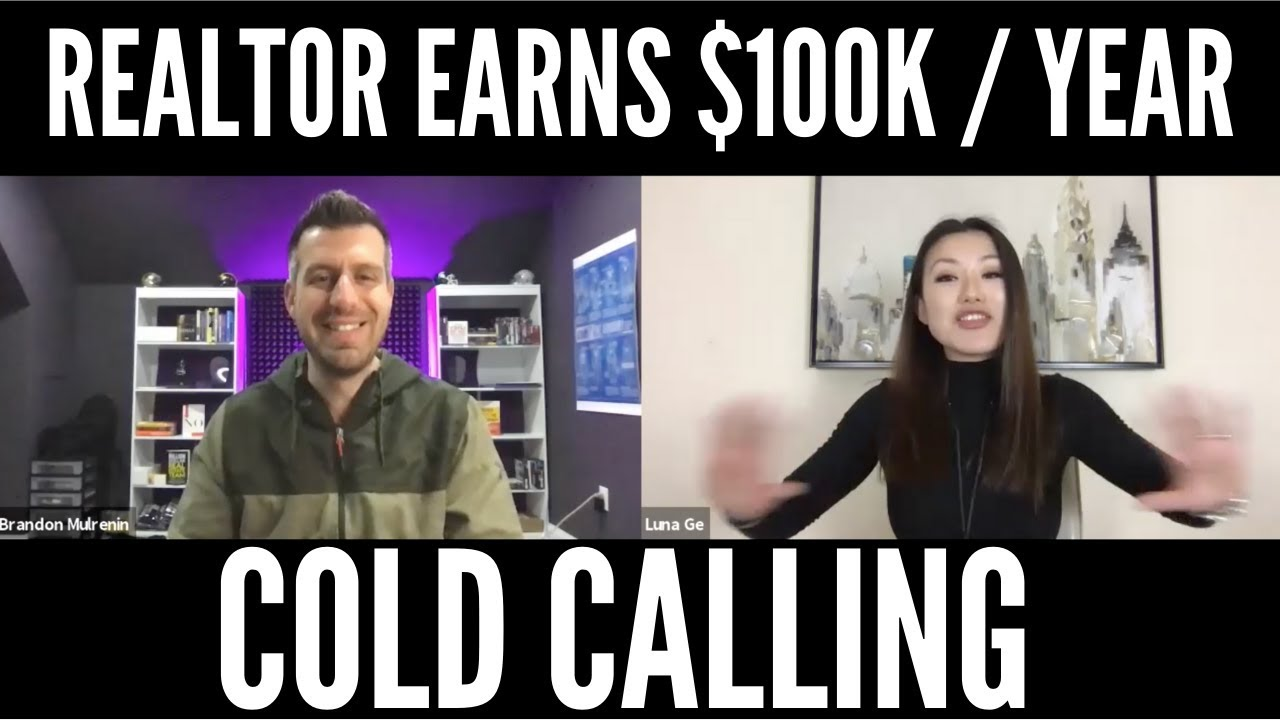 HOW TO MAKE $100K A YEAR IN REAL ESTATE COLD CALLING