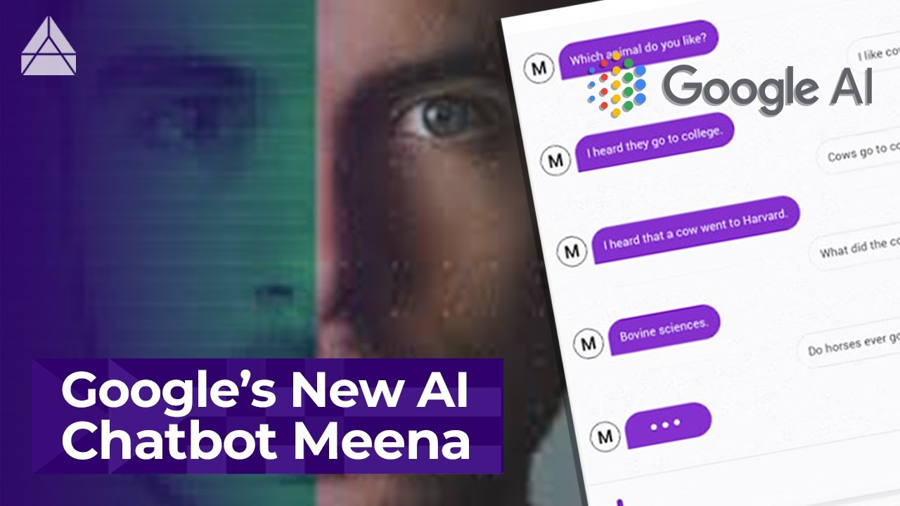 "Google's new chatbot ""Meena"": the most human-like AI chatbot ever 🤖"