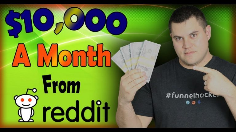 Make $10,000 Per Month On Reddit [3 Simple Steps]