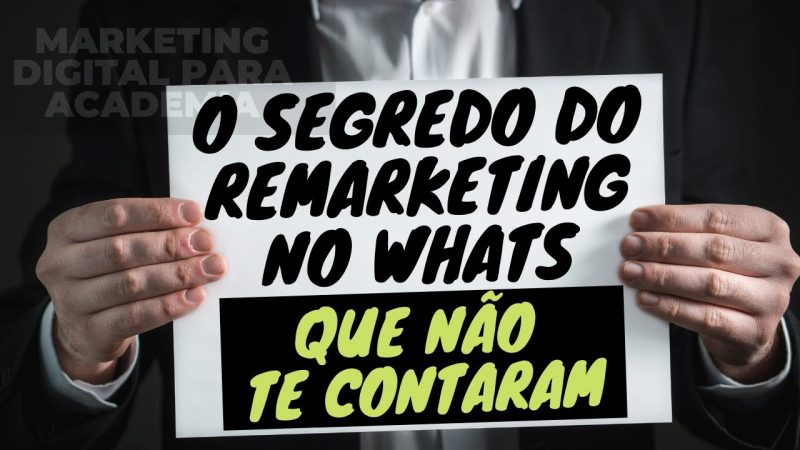 Marketing Digital para Academia - Remarketing no WhatsApp