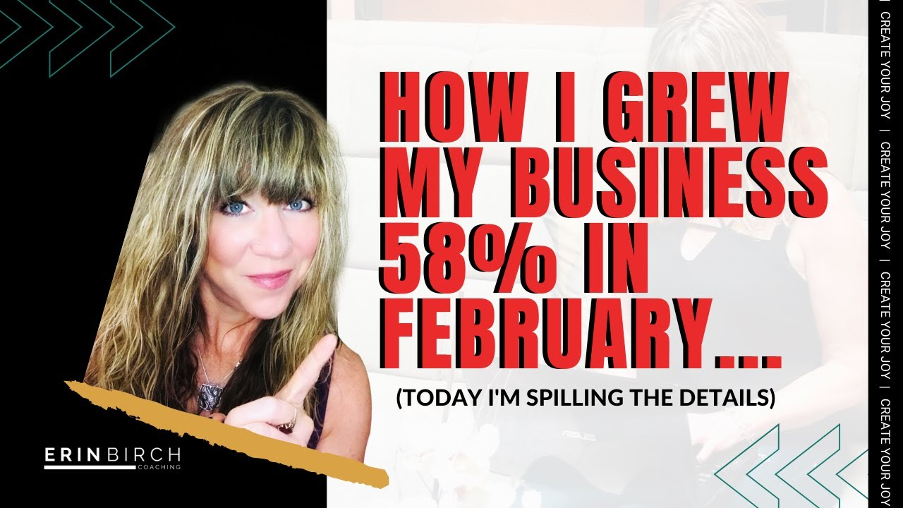 Online Network Marketing Tips: How I grew my business by 58% in February