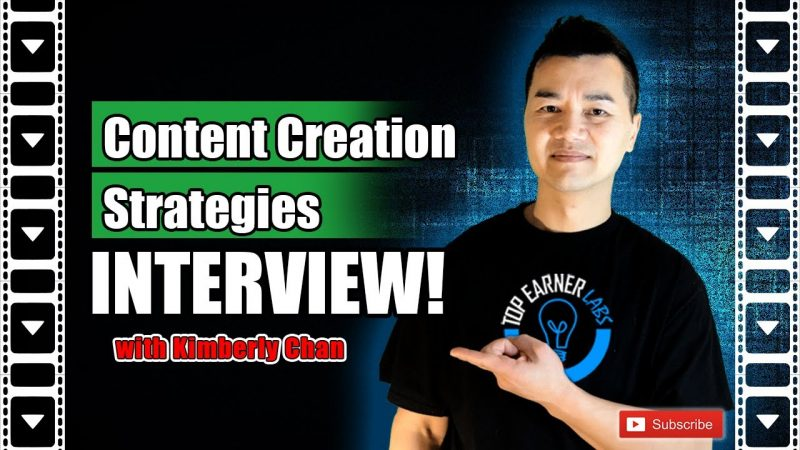 Content Creation Tips for Online Marketing | Interview with Kimberly Chan