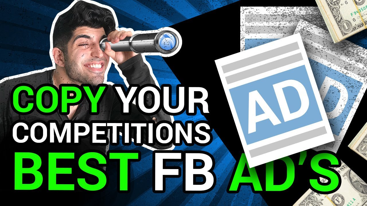 HOW TO SPY ON YOUR COMPETITORS FACEBOOK ADS | COPY WINNING FB ADS | DONT REINVENT THE WHEEL