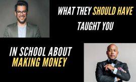 Tai Lopez  (5 Minute Money Mentor) with Shark Tank's Daymond John,