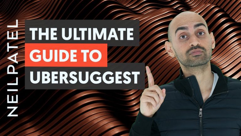 Read more about the article The Definitive Guide to Ubersuggest for SEO and Content Marketing