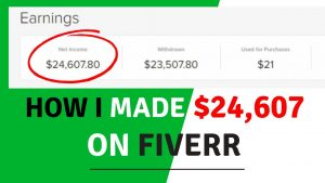 Earn $24,607 On Fiverr Without WORK |Make Money online On Fiverr in 2020 For Beginners|GIG marketing