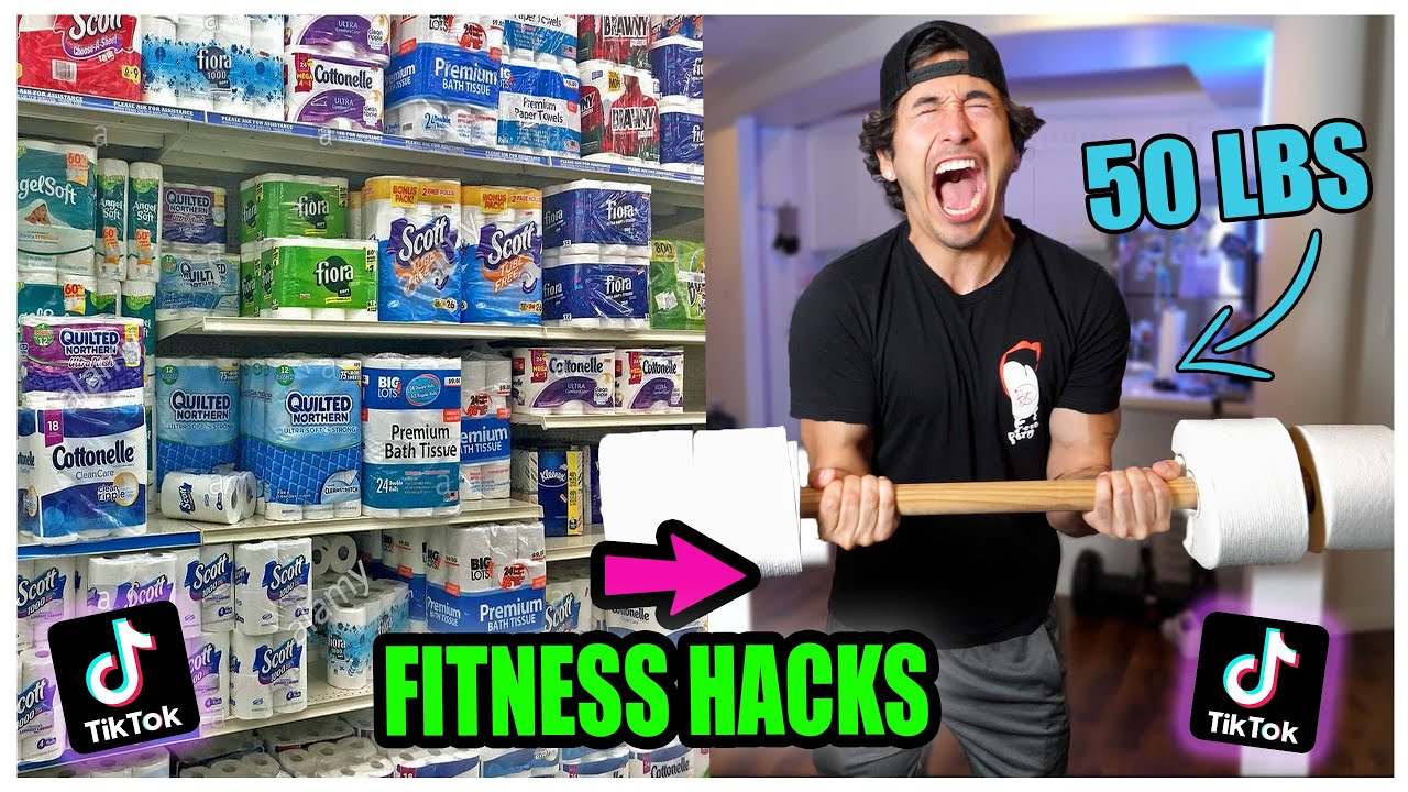 We TESTED Viral TikTok AT HOME Quarantine Work Out Life hacks…. (This is what happened)