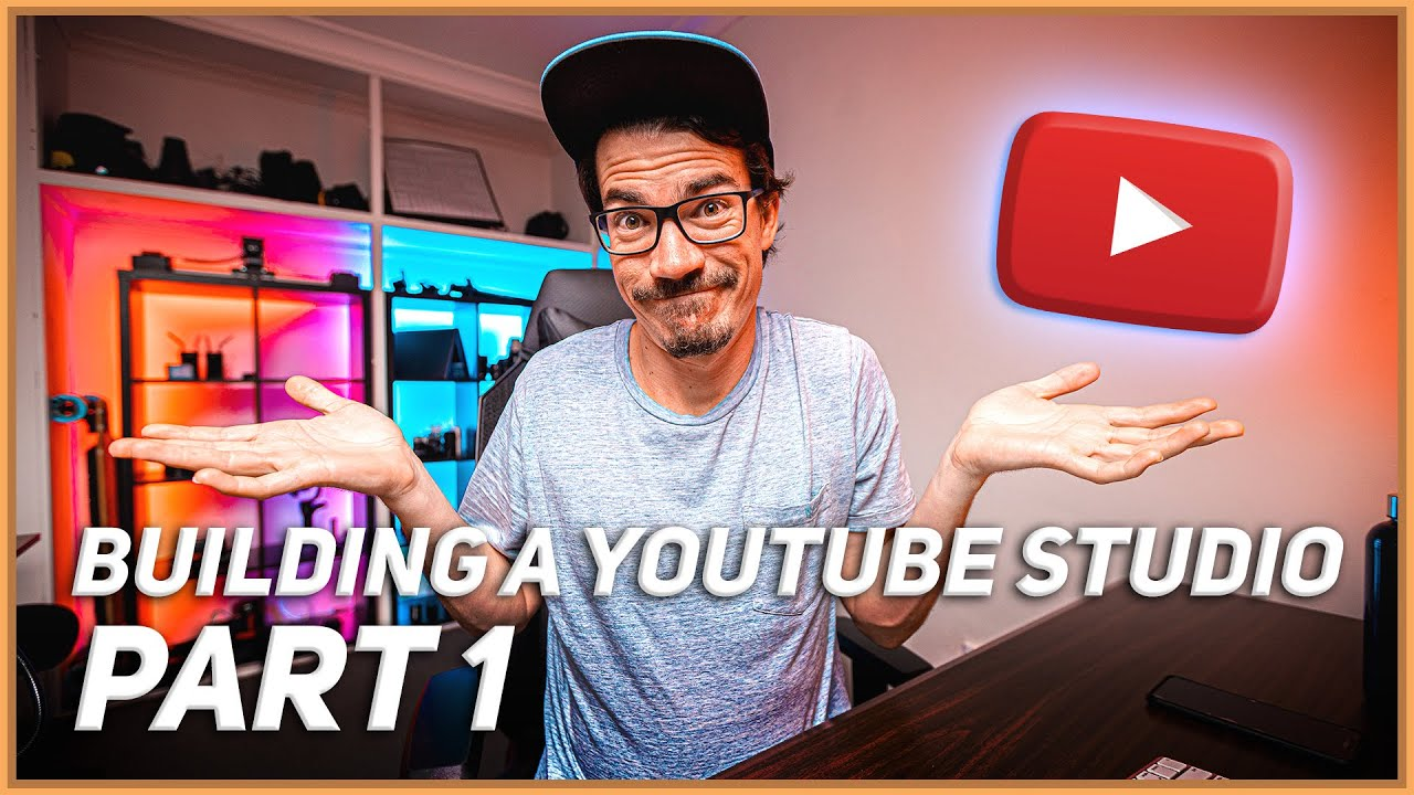 Building A Home YouTube Studio // Make Creating YouTube Videos Easy