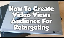 How To Create Video Views Audience For Retargeting #facebookads