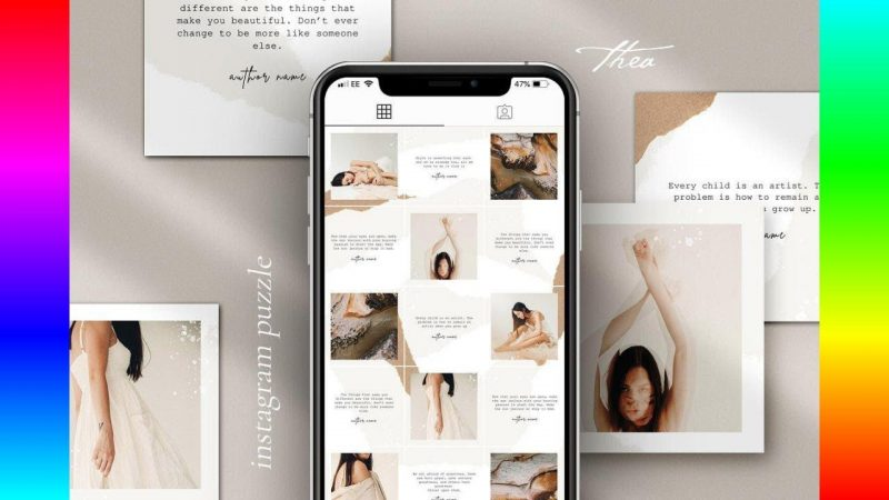 Instagram Story Templates: Thea Instagram puzzle | CANVA