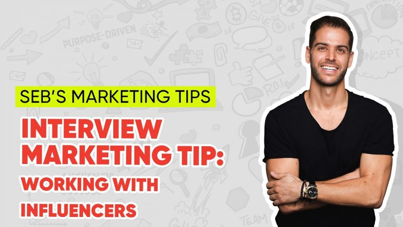 Interview Marketing Tip: Working with Influencers