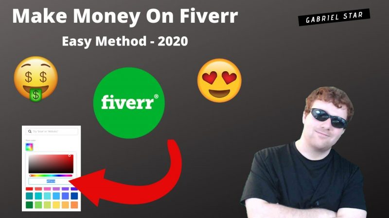 How To Make Money Online With Fiverr In 2020 - You Won't Believe It's This Easy! 😮