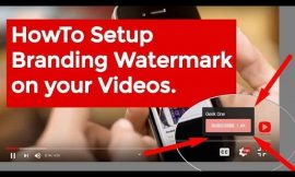 How To Set Youtube Channel Branding | Creating Youtube Branding Watermark!!!!!!