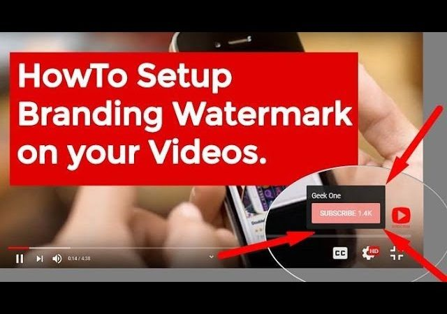 How To Set Youtube Channel Branding | Creating Youtube Branding Watermark!!!!!!