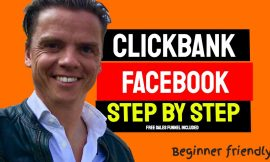 7 steps To make money with clickbank and Facebook ads. Presell page included.