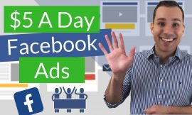 FREE FACEBOOK ADS MASTERCLASS How To Make Hundreds of thousands With A Easy $5 a day advert spend system
