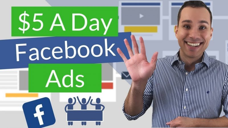 FREE FACEBOOK ADS MASTERCLASS How To Make Millions With A Simple $5 a day ad spend formula