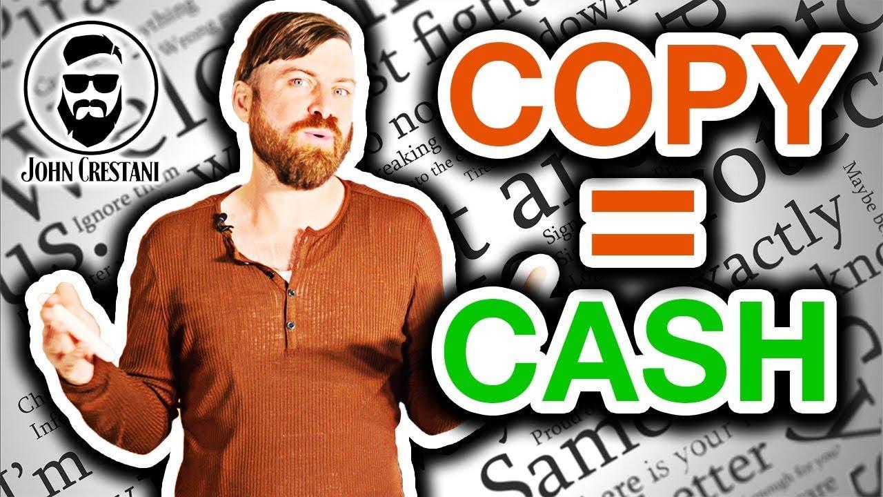 How To Begin Copywriting With Zero Expertise  |  John Crestani