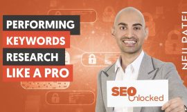 Keyword Research Part 1 – SEO Unlocked – Free SEO Course with Neil Patel