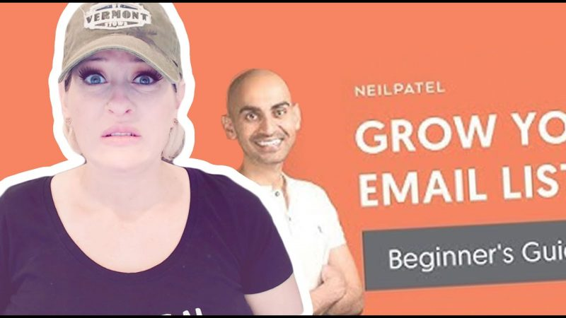 Entrepreneur Reacts: Neil Patel's 2 Ways to Grow Your Email List FAST(How I Captured 700,000 Emails)