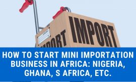 The best way to Begin Mini Importation Enterprise in Africa in 2020 – Secrets and techniques You Want To Know
