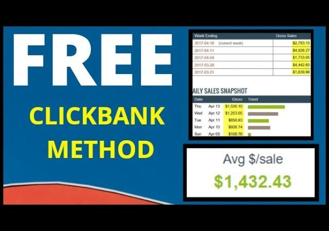 💥 How To Make Money On Clickbank For Free 2020: FREE Money Making Method 💥
