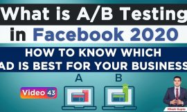 What's AB Testing Fb Advertisements | Methods to Know which FB Advert will Carry out | Break up Testing Fb Advertisements