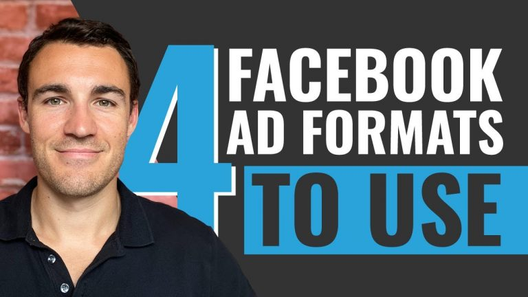 4 Facebook Ad FORMATS You Have To Try