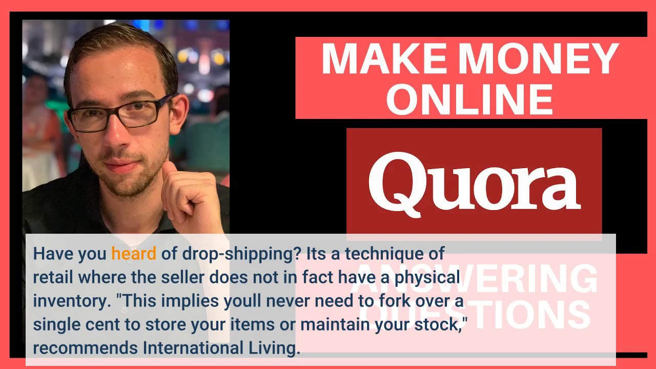 All About What's the easiest way to make money online? – Quora