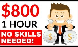 Earn $800 in 1 Hour AUTOMATICALLY for FREE! (No Skills) – Make Money Online