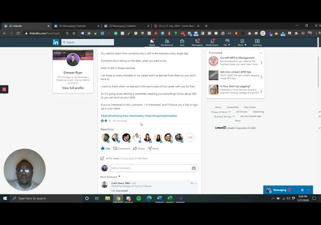How I Generated Over 70 Leads From LinkedIn in 3 Days (On Autopilot)