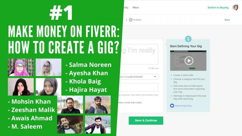 How to Make Money on Fiverr: How to create Fiverr Gig? | Fiverr Tips & Tricks